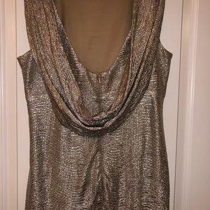 Blu Sage Dresses - Formal metallic dress